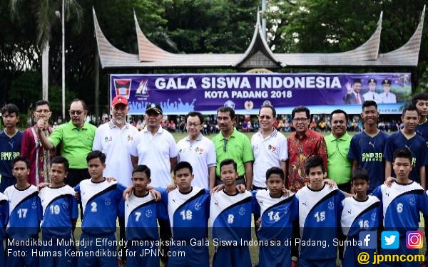 Heboh Kompetesi Gala Siswa di Padang, Mendikbud Terpukau - JPNN.COM