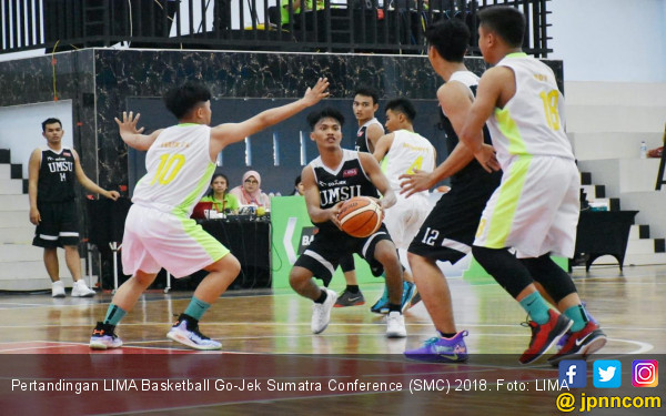 LIMA Basketball Go-Jek SCM 2018: Eka Prasetya Perkasa - JPNN.COM
