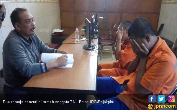 Dua Bocah Uji Nyali, Mencuri di Rumah Anggota TNI - JPNN.COM