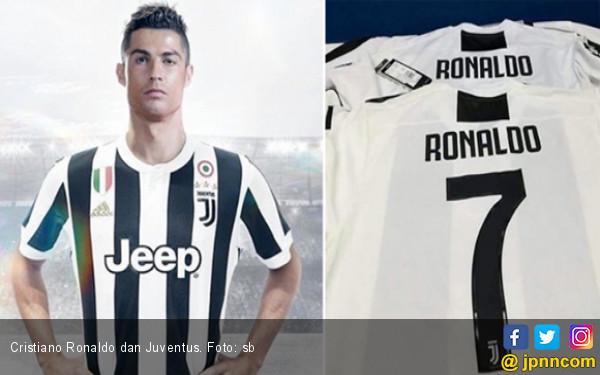 Jersey Cristiano Ronaldo di Juventus Sudah Dijual - JPNN.COM