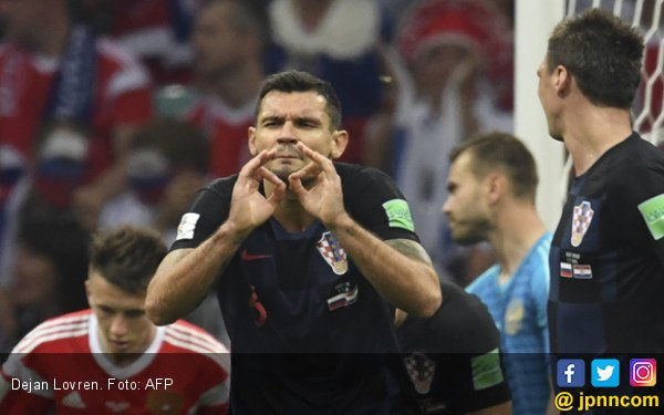 Dejan Lovren. Foto: AFP