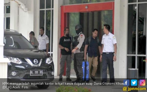 Telusuri Dokumen Proyek, KPK Geledah Empat Instansi di Aceh - JPNN.COM