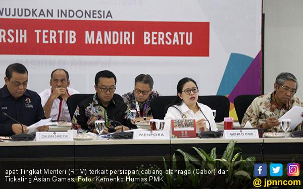 Jelang Asian Games, Pemerintah Tajamkan Cabor dan Ticketing - JPNN.COM