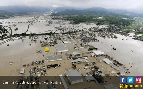 Jepang Dilanda Banjir Terburuk - JPNN.COM