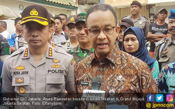 Ledakan di Grand Wijaya Center, Ini Respons Anies Baswedan - JPNN.COM