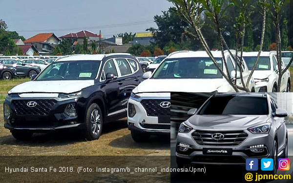 Bocor Sosok Hyundai Santa Fe 2018, Rilis di GIIAS? - JPNN.COM