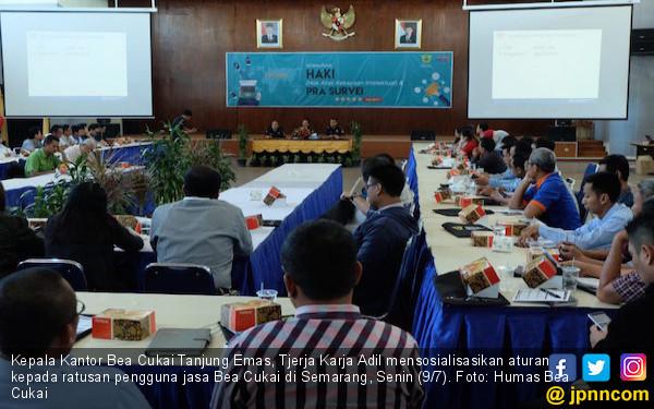 Bea Cukai Semarang Sosialisasikan Aturan Baru Pengguna Jasa - JPNN.COM