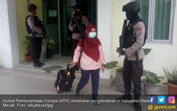 KPK Buru Dokumen hingga Kamar Bupati Bener Meriah - JPNN.COM