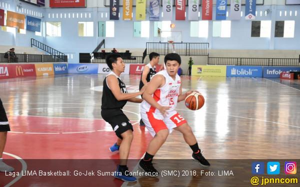 Eka Prasetya Sempurna di LIMA Basketball Go-Jek SMC 2018 - JPNN.COM