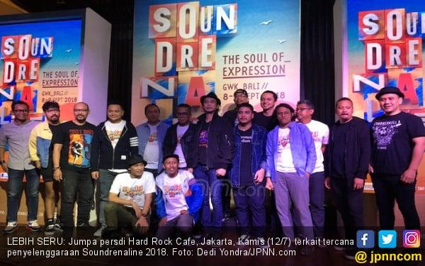 Padi hingga Limp Bizkit Bakal Ramaikan Soundrenaline 2018 - JPNN.COM