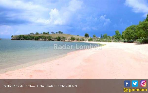 Mengintip Pesona Pantai Pink di Lombok Timur - JPNN.COM