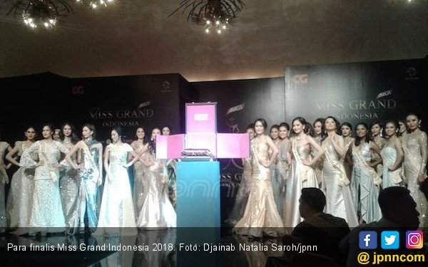 30 Finalis Miss Grand Indonesia Dikarantina - JPNN.COM