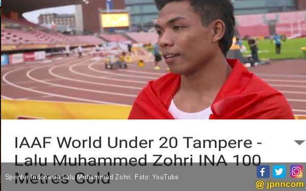 Menang Kejuaraan Dunia, Zohri Harus Disambut Khusus - JPNN.COM
