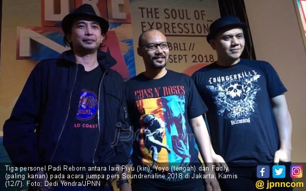 Padi Reborn Siapkan Aksi Spesial untuk Soundrenaline 2018 - JPNN.COM