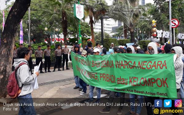 Relawan Arus Bawah: Singkirkan Penjual Nama Anies-Sandi! - JPNN.COM