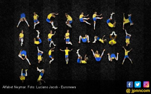 Lihat! Gaya Jatuh Neymar Bisa jadi Alfabet A Sampai Z - JPNN.COM