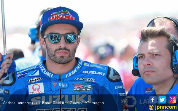 Iannone Kalahkan Marquez dan Rossi di FP1 MotoGP Jerman - JPNN.COM