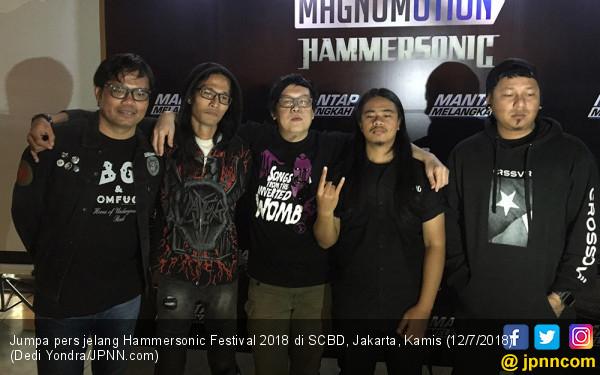Setelah 6 Tahun Eksis, Hammersonic Festival Akan Berakhir? - JPNN.COM