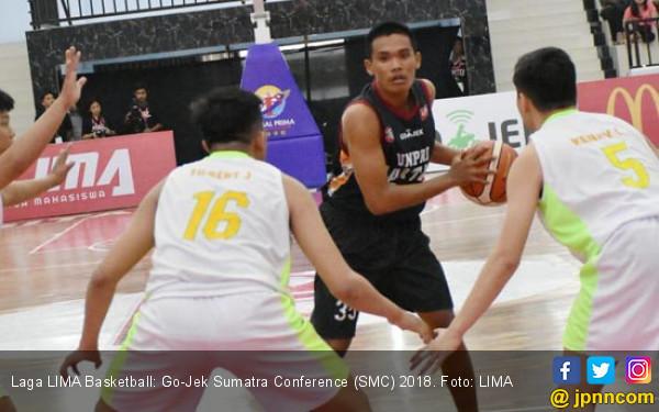 LIMA Basketball Go-Jek SMC 2018: Unpri Tantang Eka Prasetya - JPNN.COM