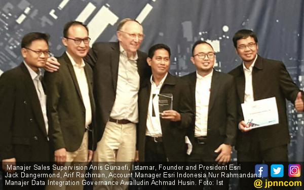 Telkom dan Lemhannas Raih Penghargaan Inovasi Tingkat Dunia - JPNN.COM