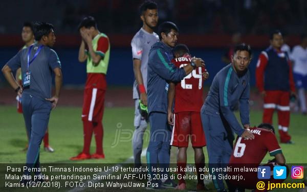 Timnas Indonesia Kalah Adu Penalti, Air Mata di Gelora Delta - JPNN.COM