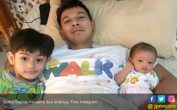 Baru 2 Bulan, Sonny Septian Nasihati Putrinya Soal Pacaran - JPNN.COM
