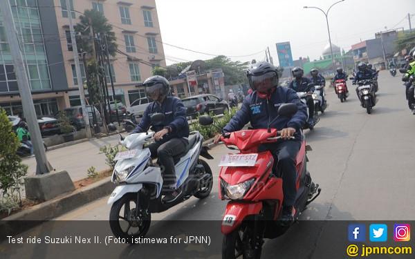 Test Ride Suzuki Nex II: Belah Kemacetan Ibu Kota - JPNN.COM