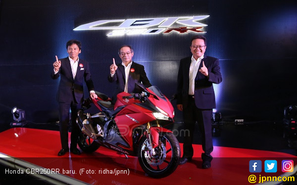 Tambah Warna, Honda CBR250RR Coba Peruntungan Pasar Baru - JPNN.COM