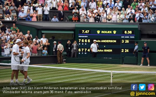 Tembus Final Wimbledon Usai Bertanding Selama 6 Jam 36 Menit - JPNN.COM