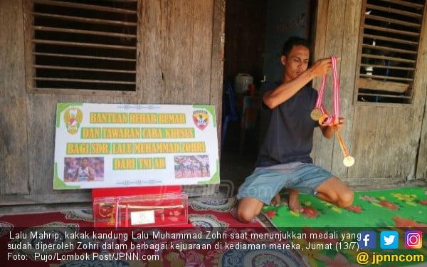 Puluhan Personel TNI di Rumah Lalu Muhammad Zohri, tapi... - JPNN.COM
