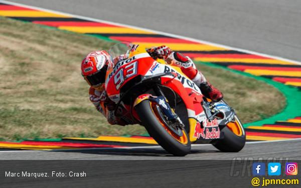 Latihan Bebas MotoGP Jerman: Lorenzo Ngebut, Marquez Santai - JPNN.COM