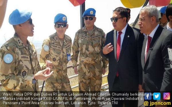 Prajurit TNI Mendapat Tempat di Hati Masyarakat Lebanon - JPNN.COM