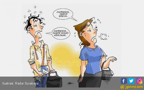 Derita Biduanita Tak Tahan Punya Suami Istikamah Ogah Kerja - JPNN.com