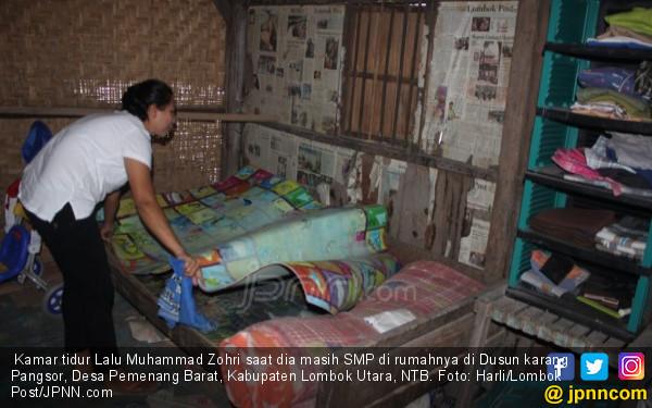 Rumah Baru Lalu Muhammad Zohri di Lahan 500 Meter Persegi - JPNN.com