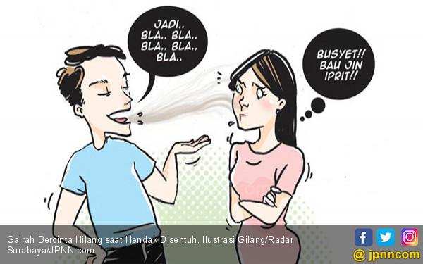 Gairah Bercinta Hilang saat Hendak Disentuh - JPNN.COM