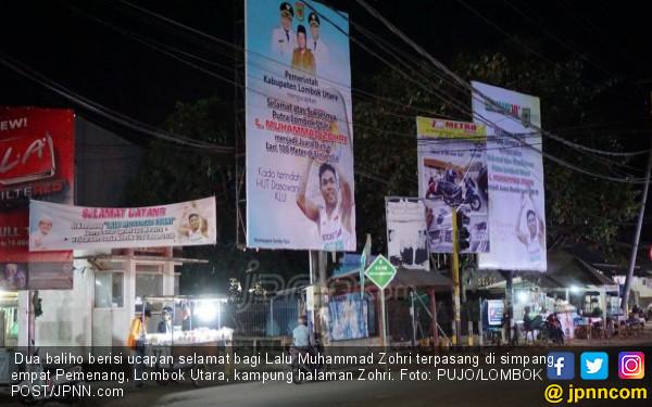 Baliho Promosi Hotel Berbintang pun Diganti Gambar Zohri - JPNN.COM