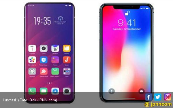 Sekilas Membanding Oppo Find X dengan iPhone X - JPNN.COM