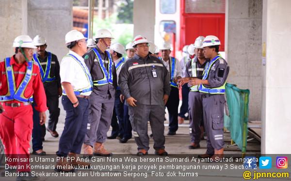 Dekom PT PP Kunjungi Proyek Runway 3 Bandara & Urbantown - JPNN.com