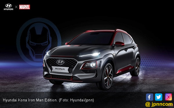 Hyundai Kona Iron Man Dibanderol Rp 367 Juta - JPNN.COM