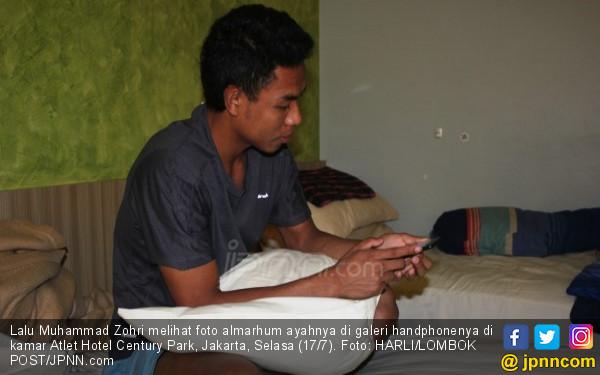 Lalu Muhammad Zohri Bercerita, Sungguh Mengharukan - JPNN.COM
