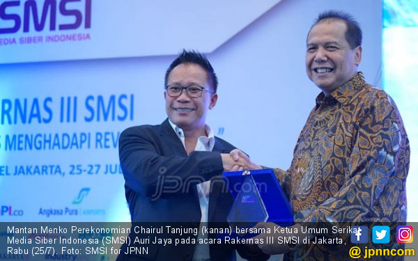 Jurus CT Semangati Pelaku Bisnis Media Online SMSI - JPNN.COM