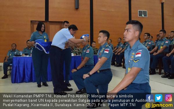 120 Satgas Maritim TNI Siap Mengemban Misi PBB di Lebanon - JPNN.COM