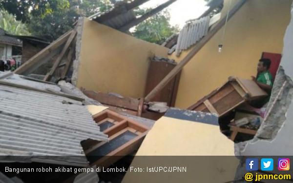 Jembatan Rusak, Sulit Bawa Bantuan ke Korban Gempa Lombok - JPNN.com