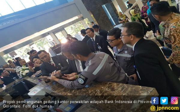 PT PP Selesaikan Proyek Gedung Bank Indonesia di Gorontalo - JPNN.com