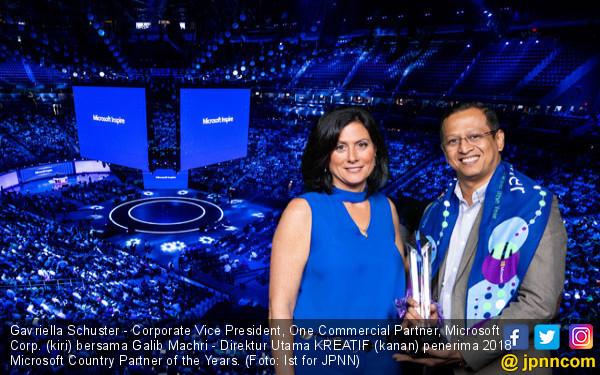 Microsoft Beri Penghargaan ke Mitra Inovatif di Indonesia - JPNN.COM