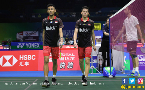 Duh, Fajar / Rian Gugur di Babak Pertama Fuzhou China Open - JPNN.COM