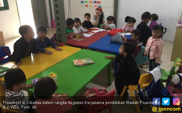 Wadah dan J-WEL Berkolaborasi Membuka Akses Pendidikan - JPNN.COM