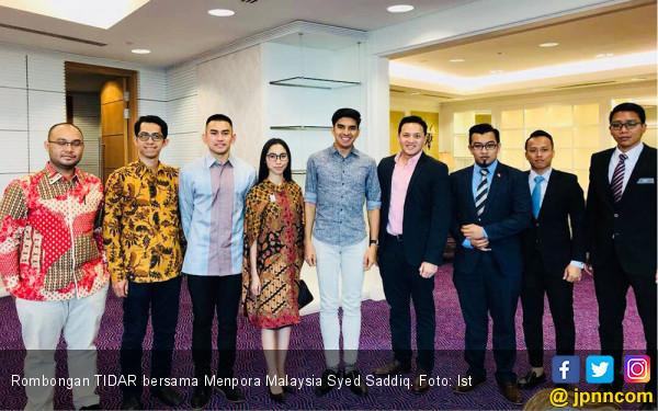 Ketika Sayap Pemuda Gerindra Bertemu Menpora Malaysia - JPNN.com