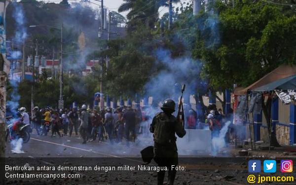 Kaos di Nikaragua, Puluhan Ribu Warga Mengajukan Suaka - JPNN.COM