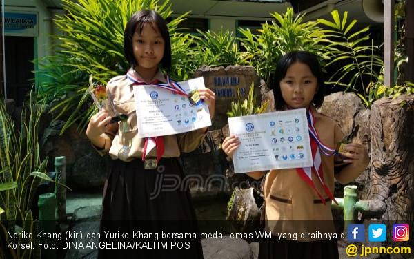 Kakak Adik Raih Emas Olimpiade Matematika di Korsel, Hebat! - JPNN.COM